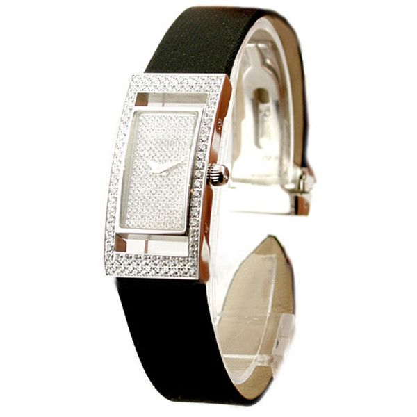 Piaget Rectangle Ladies Diamond Watch ($22,308) ❤ liked on Polyvore featuring jewelry, watches, piaget watches, diamond wrist watch, diamond jewellery, rectangle watches and piaget jewelry
