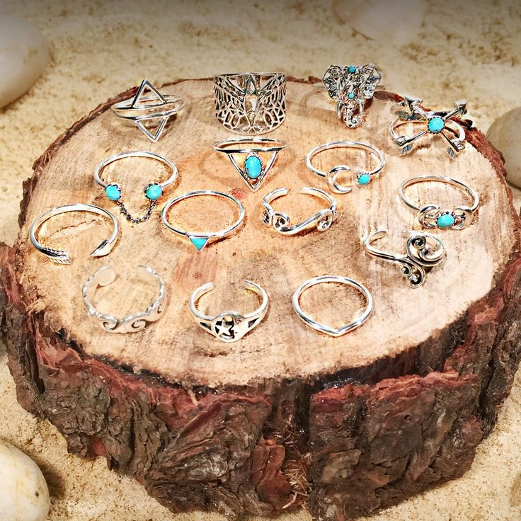 Barefoots range of sterling silver and turquoise rings. Get yours online at www.barefootdesigns.com.au