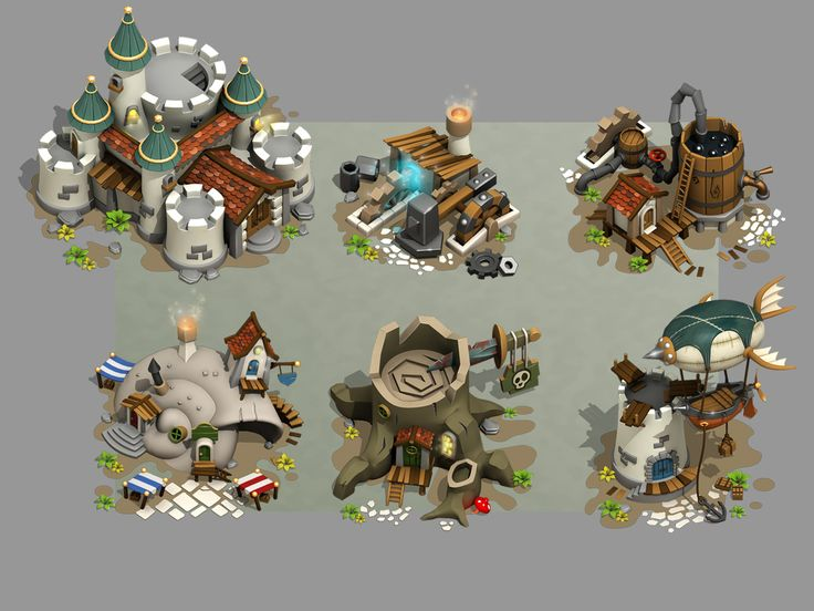 Game - Buildings!