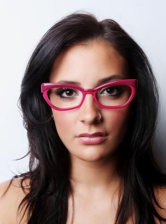 eccentric glasseshot pink frames cat eye glassesgirly vintage glasses women