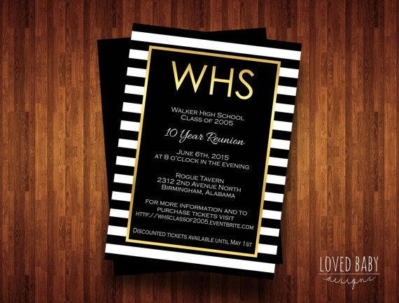 Best 25+ Class reunion invitations ideas on Pinterest Reunion - class reunion invitation template