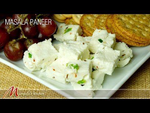 Masala Paneer - Manjula's Kitchen - Indian Vegetarian Recipes