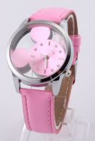 Mickey Mouse roze horloge