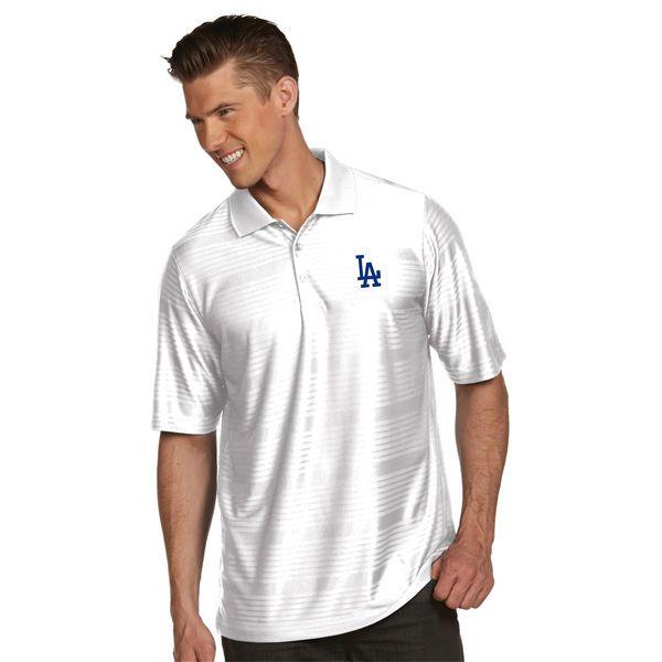 Los Angeles Dodgers Antigua Illusion Polo - White - $56.99