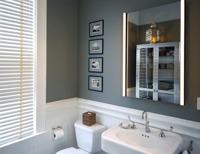 Sherwin williams storm cloud an awesome gray blue for Sherwin williams bathroom paint colors