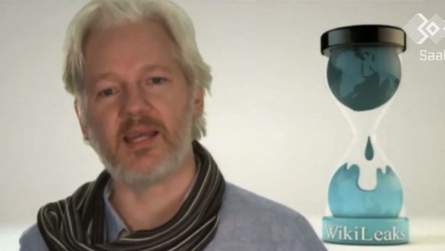 Dec 31, 2013 WikiLeaks' Julian Assange Calls on Computer Hackers to Unite Against NSA Surveillance. WikiLeaks founder Julian Assange addressed a major gathering of computer experts Monday at the Chaos Communication Congress in Hamburg, Germany, calling on them to join forces in resisting government intrusions on Internet freedom and privacy. We play highlights from Assange's speech, as well as the one given by Sarah Harrison, the WikiLeaks member who accompanied Edward Snowden to Russia.