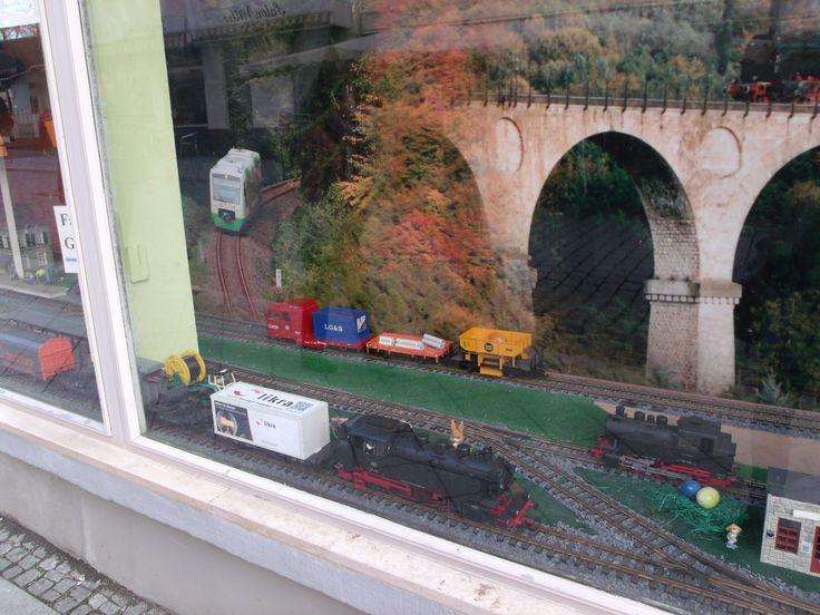 Hier treffen sich die Eisenbahnfreunde Sonneberg.
