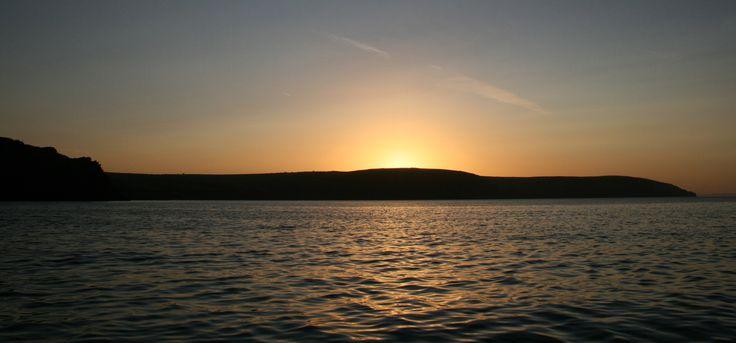 Sunrise. Dartmouth, England, UK