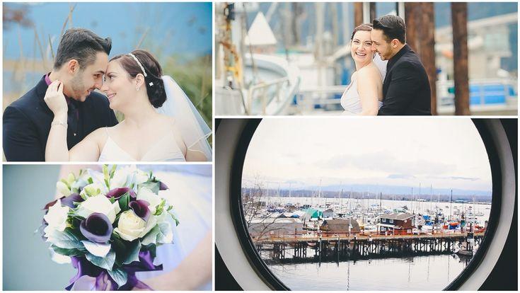 Vancouver Island Wedding Videography :: Marianne & Arash {Oceanfront Suites, Cowichan Bay, BC} www.cassieoneil.com