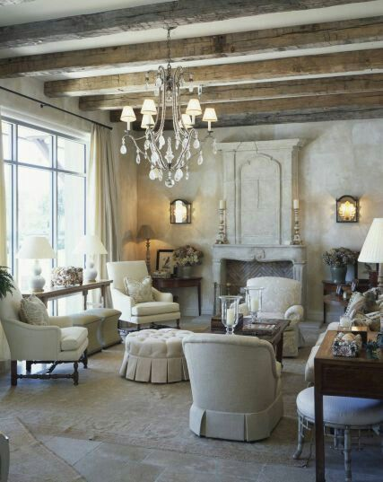 French Country Sitting Room