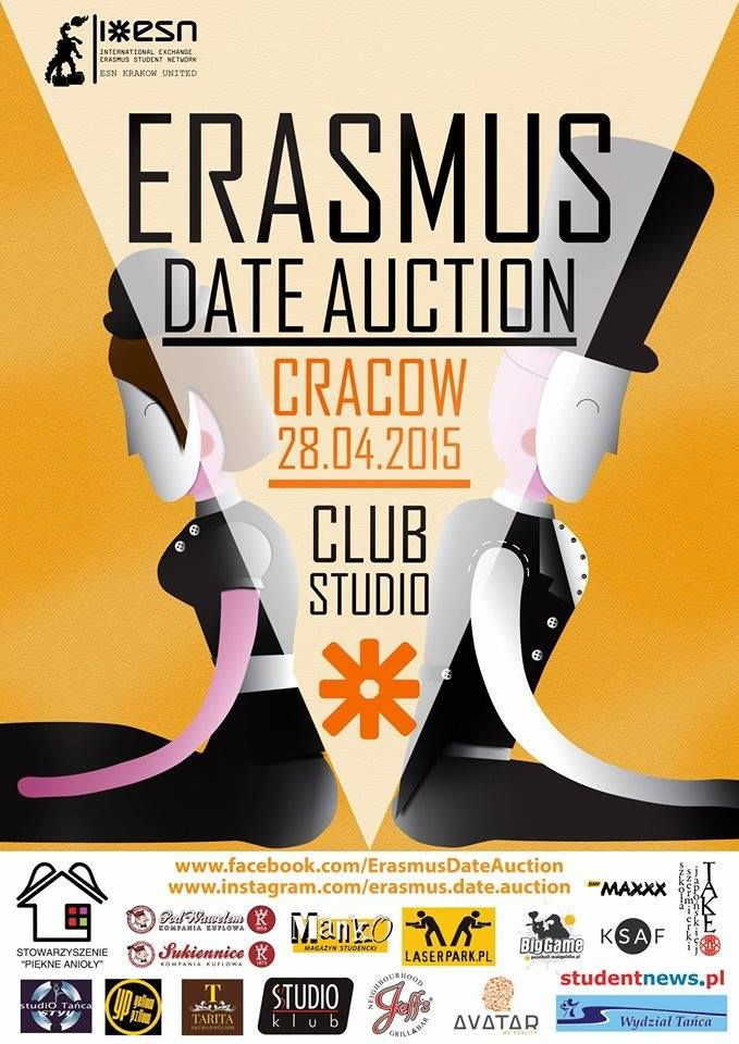 Erasmus Date Auction is a charity event. Foreign students and ESN'rs offer their time to raise money for renovating the room of children from poor family.