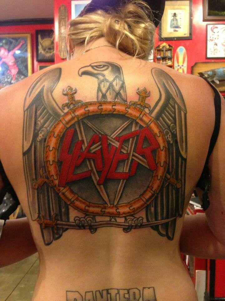 25  best ideas about Slayer tattoo on Pinterest
