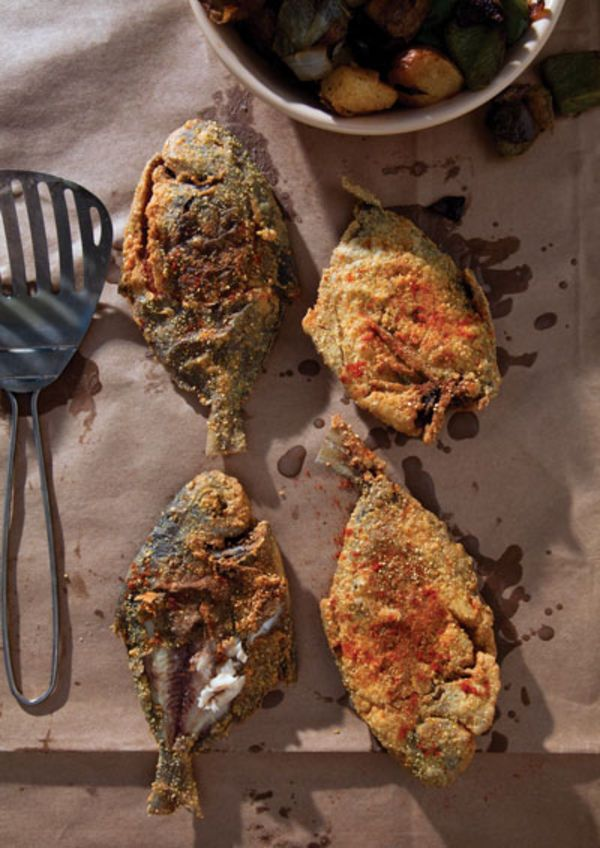 Creole style fried fish fried fish fish and fried fish for Cajun fish recipes