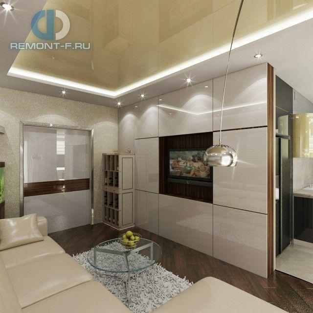 Гостиная в стиле конструктивизм. Дизайн интерьера квартиры
