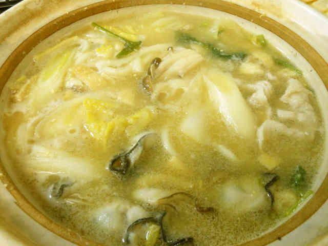 あったか牡蠣鍋の画像