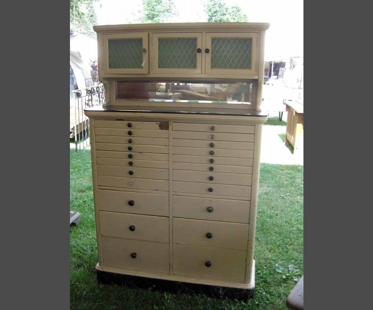 This Old Dental Cabinet Would Make A Great Craft Organizer. Especially If  You Have A