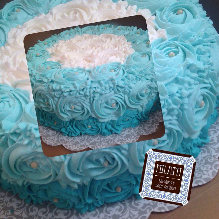 Blue Cake by Milatti gourmet