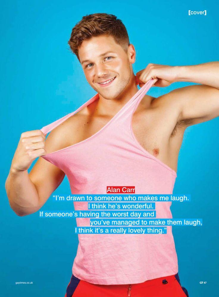 David Ames para Gay Times Magazine Agosto 2014
