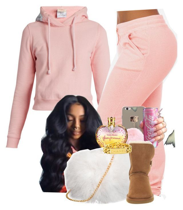 """""""Spoil me and Shower me with gifts  """" by melaninprincess-16 ❤ liked on Polyvore featuring Vetements, Vera Wang, UGG Australia and Chanel"""