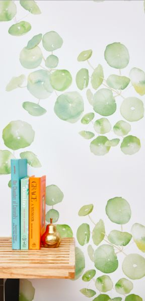 This new botanical print is sure t be a customer favorite. This hand watercolored print can brighten upany room!