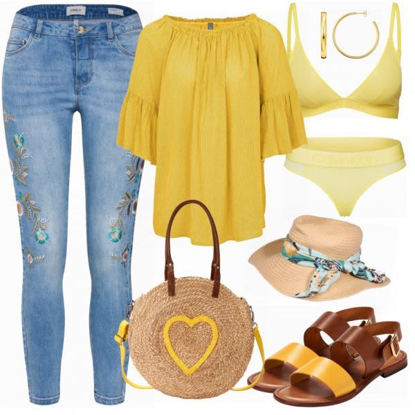 Sommer-Outfits: Heine New bei FrauenOutfits.de #mode #damenmode #frauenmode #out…