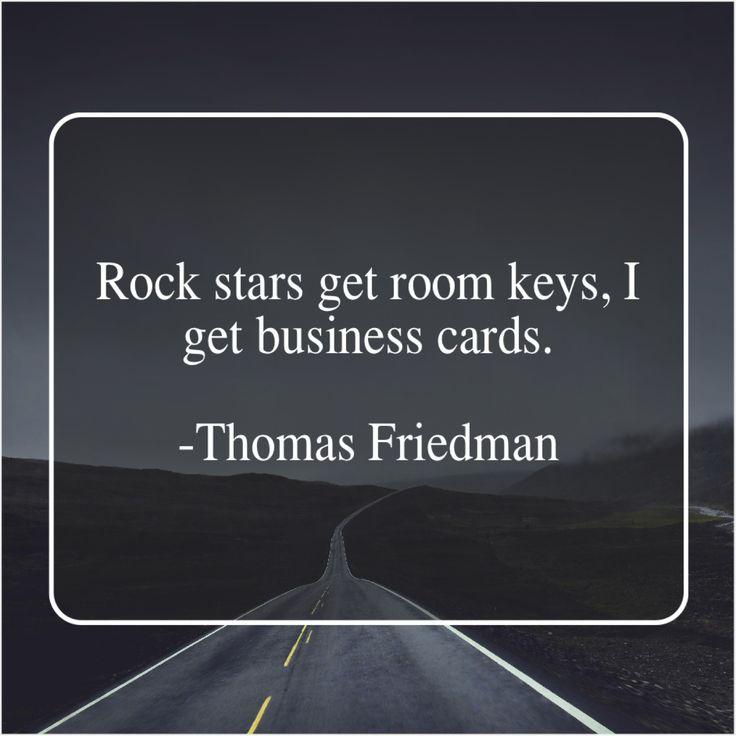 Thomas Friedman Rock Stars Get Room Keys Thomas Friedman Rockstar Best Pickles