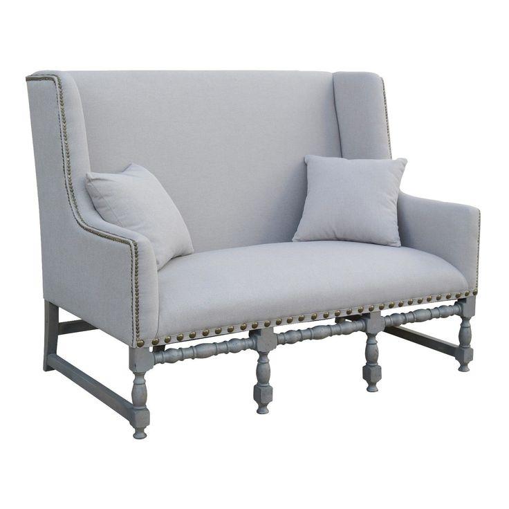 French Style Larochette 2 Seater Settee Furniture La Maison Chic Luxury Interiors