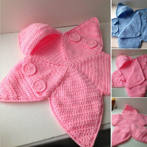 Baby Star BuntingThis crochet pattern / tutorial is available for free... Full post: Baby Star Bunting