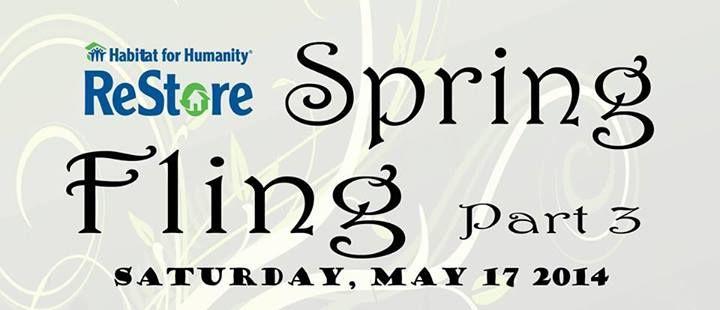 Habitat For Humanity Restore Spring Fling Part 3 Saturday May 17 2014 Explore Local
