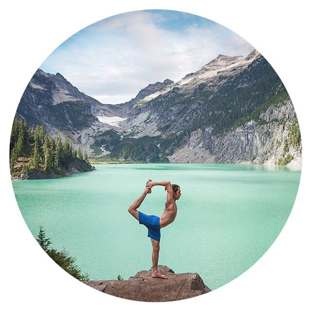 The Global Yogi: Elvis Garcia from Seattle   Yoga student and instructor dancing and hiking in the most beautiful Blanca Lake Trail, Mt. Baker in Snoqualmie National Forest. More magic moments in his profile @elvisgarciayoga  by @kdhoferyoga  #yoganomad #Natarajasana
