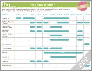 Baby Vaccine Tracker!