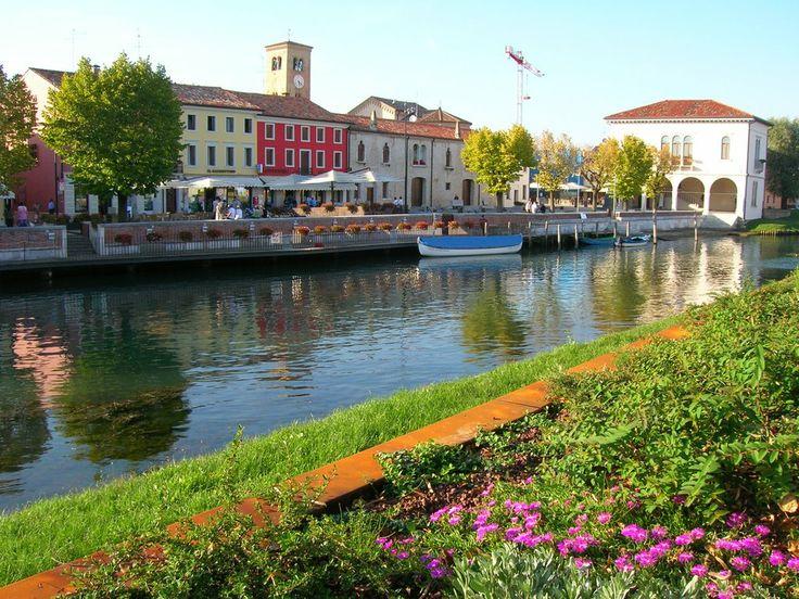 The #river of Concordia Sagittaria, #Italy.