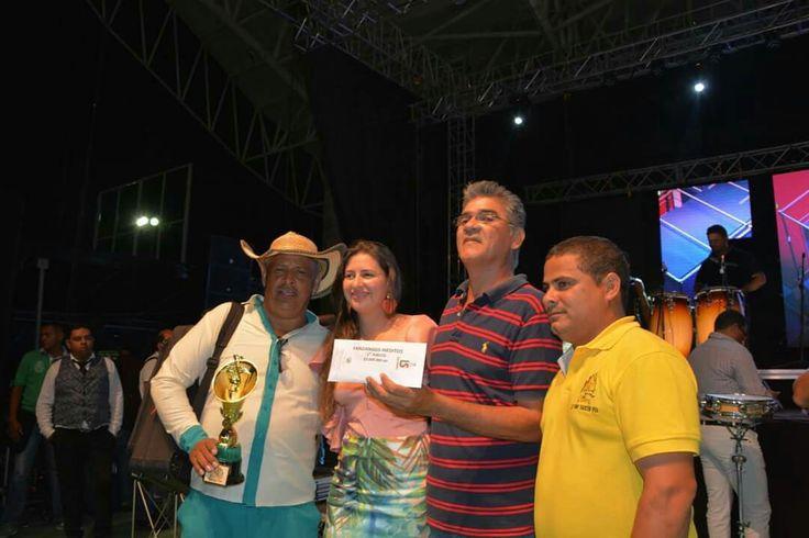 """Mejor Porro en Fandango en Festival Nacional del Porro en San Pelayo 2016, """"La Grapa"""", de Brian Santos e interpretado por la San José de Toluviejo."""