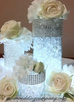 We carry a full line of DIY centerpiece decorations and accents. Shop for vase fillers, buckles, rose petals, diamond confetti, butterflies, burlap fabric, lace, starfish and ribbon.