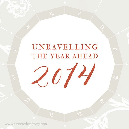 Unravelling the Year Ahead 2014 workbook | SusannahConway.com