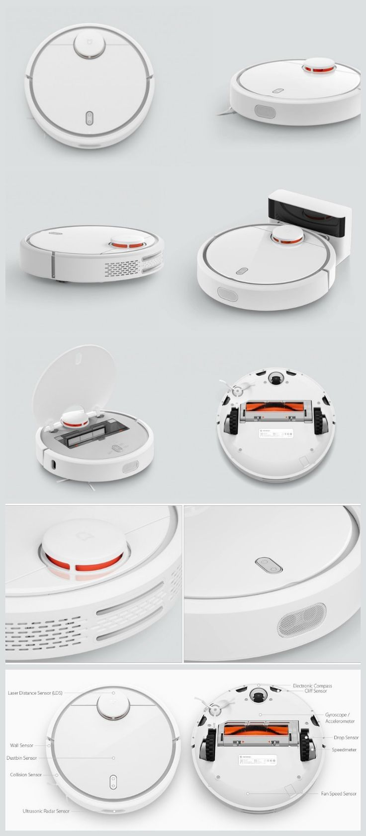 Xiaomi challenges Roomba for the king of robot vacuums throne with the Xiaomi Robotic Vacuum that costs less than half of the Roomba 980.