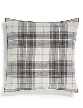Checked Cushion