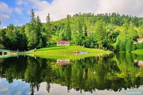 Lake Azad Kashmir Pakistan by Sanaullah