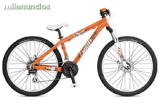 . Buenas, vengo estas dos preciosas bicicletas en naranja que son :Rockrider 8.0 RR (260� ) y Scott voltaje yz25 ( 200� ),est�n muy bien, la rockrider tiene miu poco tiempo y no se ha usado casi nunca , mando fotos o v�deos por watsapp 622 71 93 51 a cualqu