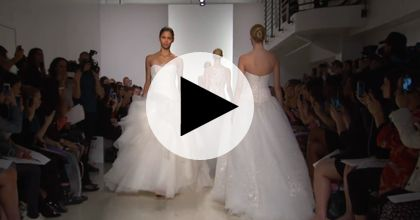 Brides: Watch Kenneth Pool's Spring 2015 Bridal Runway Show
