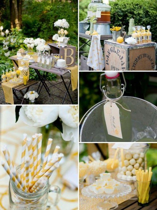 Yellow Summer Wedding