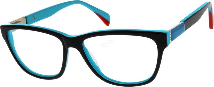 Pin It To Win It! 782021 Acetate Full-Rim Frame with Spring Hinges