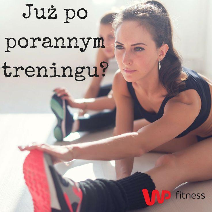 Jak Wasze samopoczucie po porannym treningu?  #fit #diet #sport #fitness #training #exercises #morningworkout #morning #warmup #effort #porannytrening #ćwiczenia #rozgrzewka #poranek #wysiłek #wpfitness
