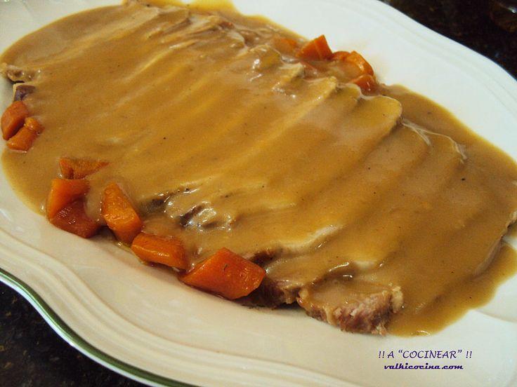 Recetas con lomo de cerdo. Escoge cuál probar de estas recopiladas por la autora del blog A cocinear.