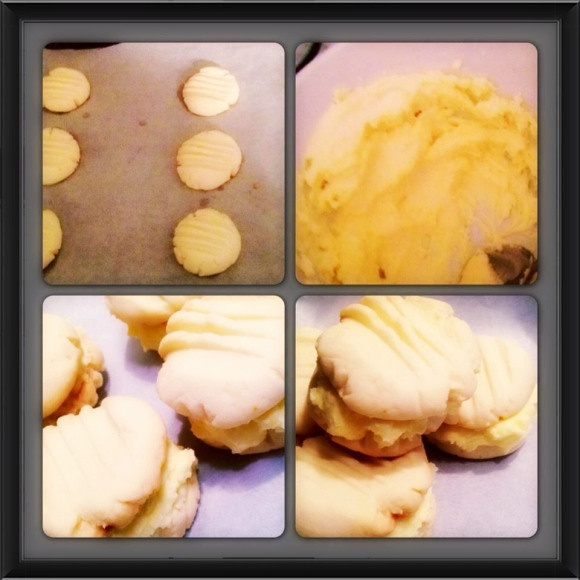 Sweet Orange Melting Moments Cookies. So yummy and they melt in your mouth.