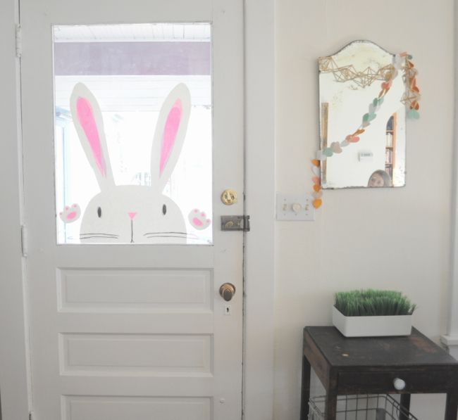 bunny at the door! - elsie marley