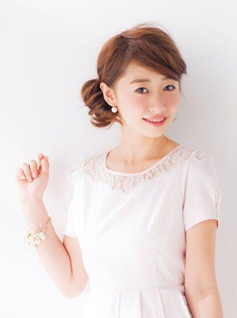 モテカワシニヨン♡ミディアムヘアさんのフルアップ参考です♡