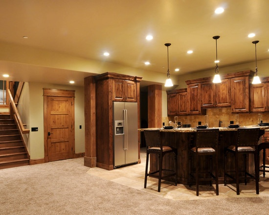 Rustic Basement Kitchen What I Would Give To Have This