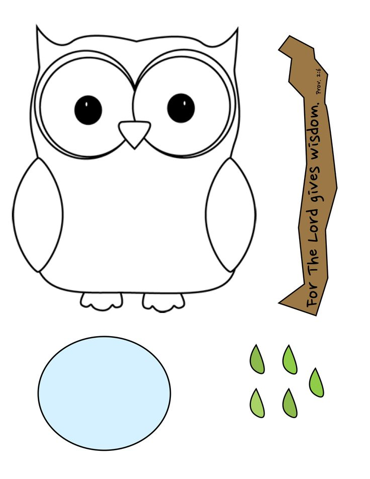 wise owl craft for the lord gives wisdom prov 2
