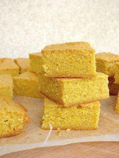 Pain de Maïs - Cornbread - Recette Américaine du pain de maïs. La recette pas à pas pour un vrai cornbread USA. Délicieux et très simple à faire.
